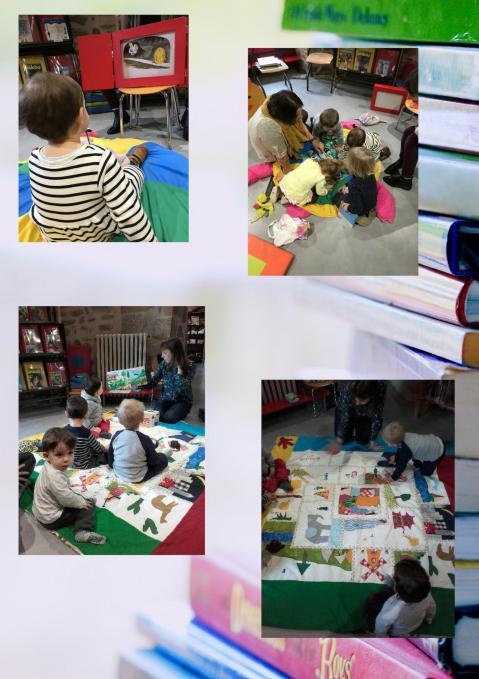 Les visites à la bibliothèque 2