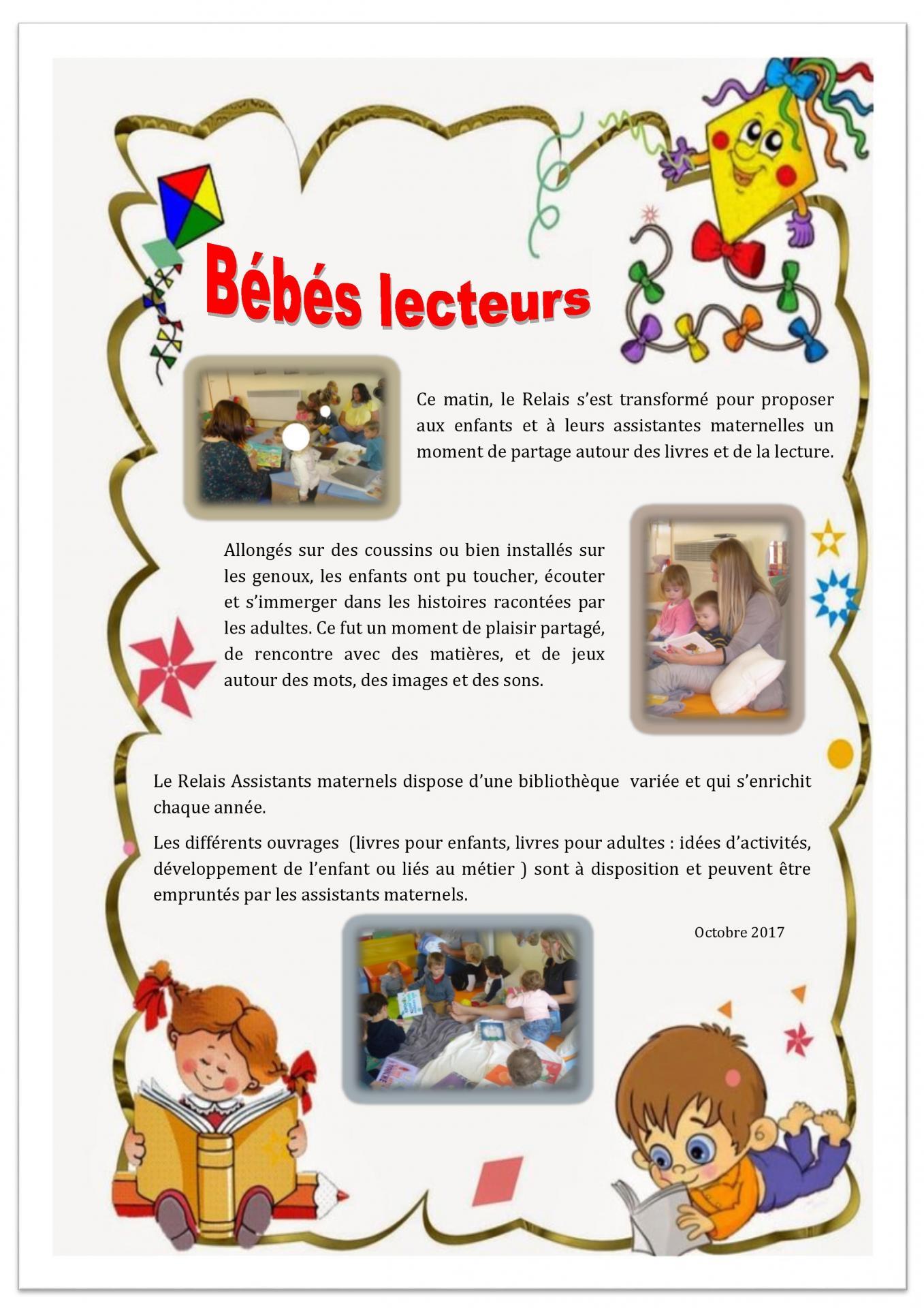 Article ram bebes lecteurs