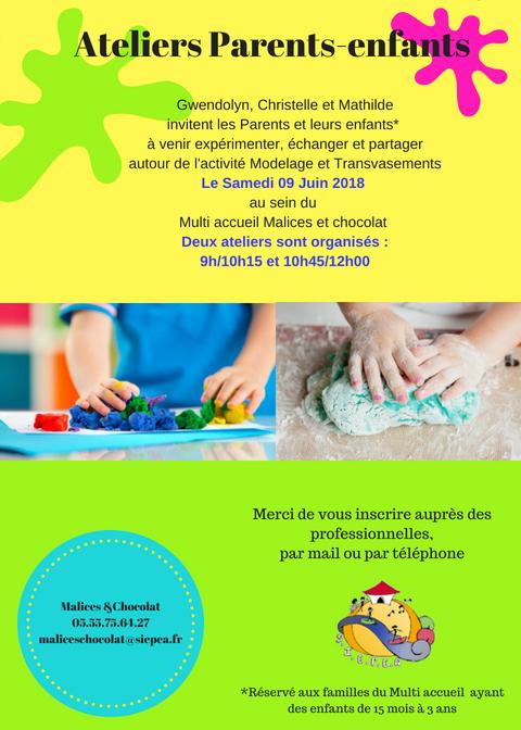 Atelier parents enfants 09 06 2018