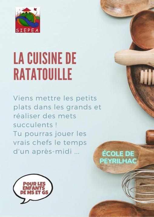 La cuisine de ratatouille