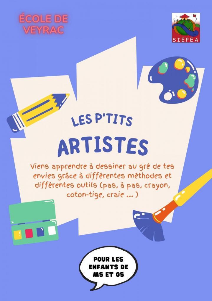 Les ptits artistes