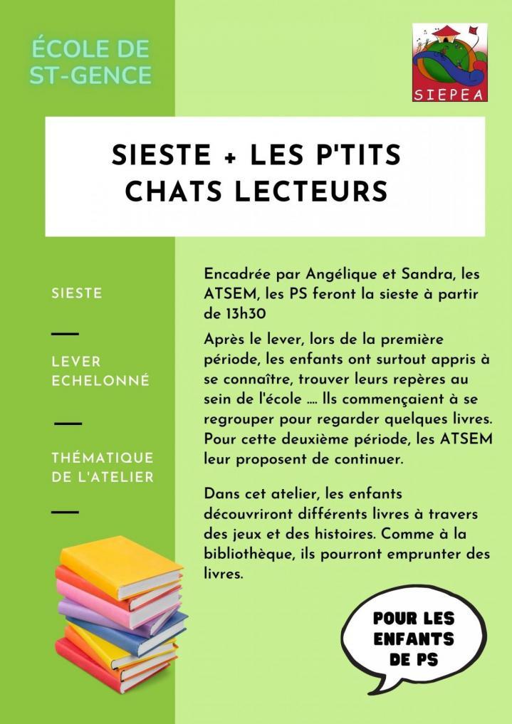 Les ptits chats lecteurs