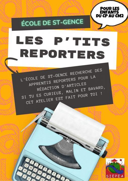 Les ptits reporters 1