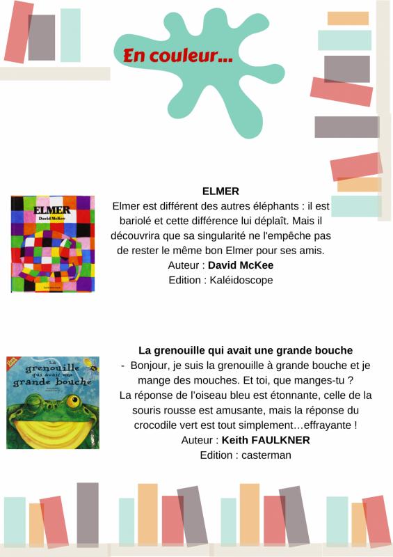Pey idees de lecture en couleur 1