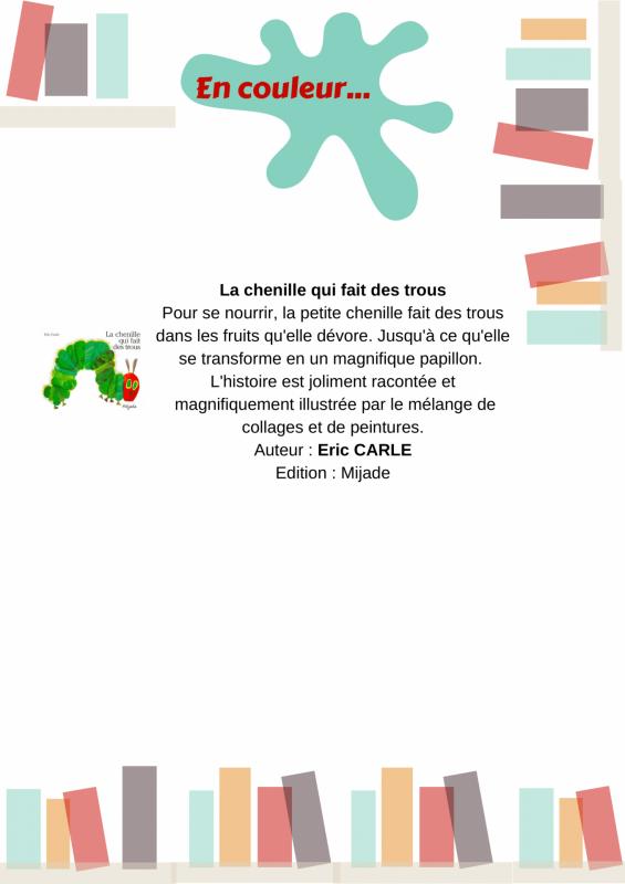 Pey idees de lecture en couleur 5