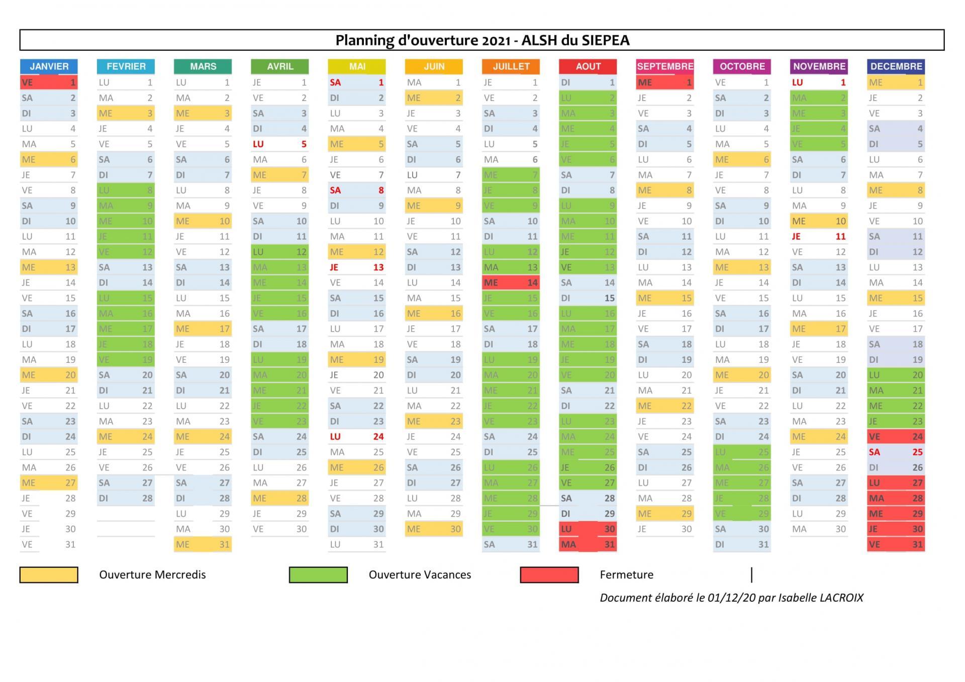 Planning previsionnel alsh 2021 2