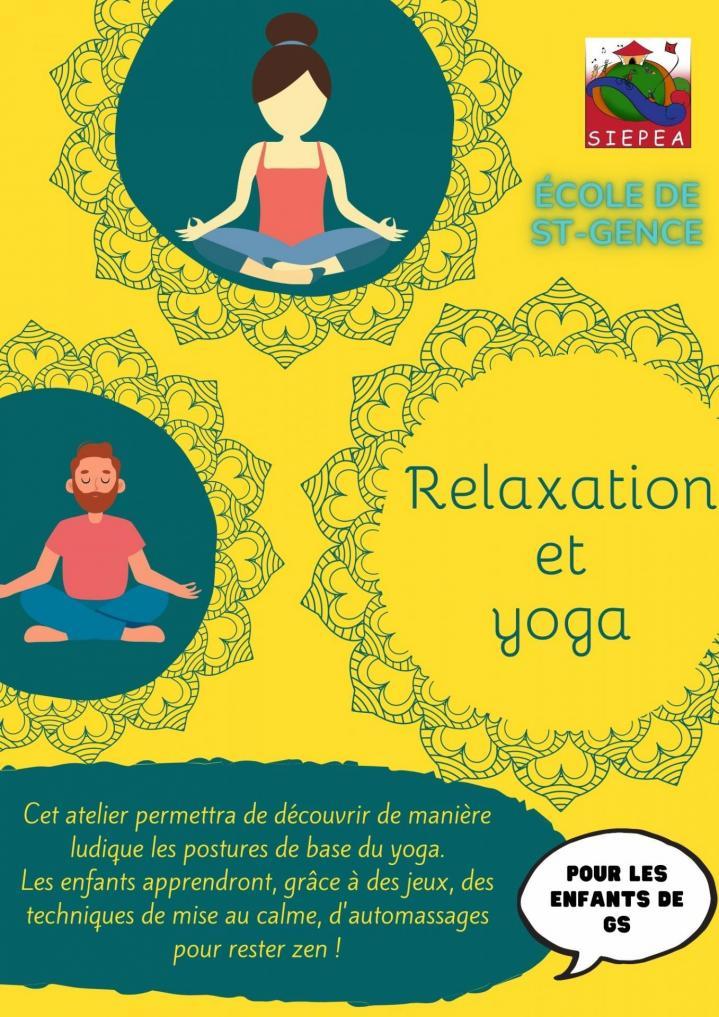 Relaxaion et yoga