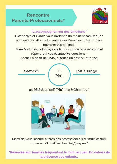 Rencontre Parents/Professionels